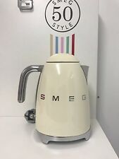 Smeg KLF01CRUK Cream 50's Retro Style Kettle-Customer Return,Lid Issue