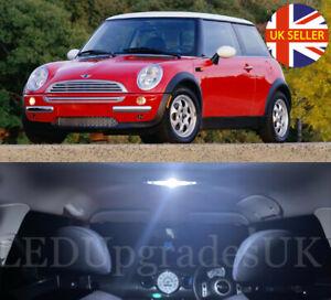 Fits Mini Cooper S Clubman R55 1.6 White 12-SMD LED COB Number Plate Light Bulb