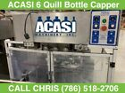 Acasi 6 Quill Inline Bottle Capper with Water Feed Hopper