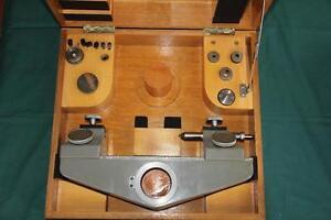 SIP Societe Genevoise Workholding Device Table MU-214B Measurements Machine TOP
