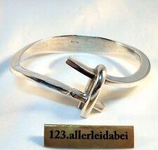 Top Chic Rarität Silber Armreif Armspange Modernist 925 Silber / AX 194