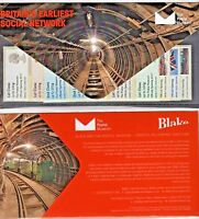 POSTAL MUSEUM Launch 5x STRIPS PRESENTATION PACK ALL DESIGNS JULY 17 Post Go