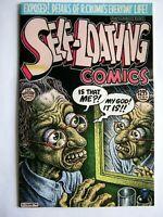 Self-Loathing R A Crumb #1 flip comic #2 1st ptg 1995 Fantagraphics free ship