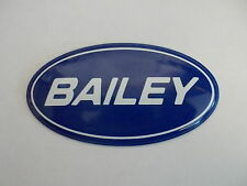 Bailey oval self adhesive badge for caravan dent cover ups sticker decal BOB6
