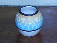 PINE RIDGE SD POTTERY VASE TRADITIONAL SIOUX INDIAN ART VINTAGE SOUTH DAKOTA
