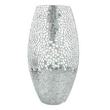 Silver Decorative Vases