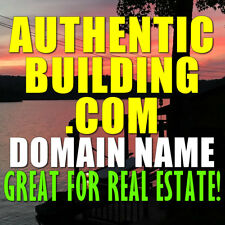 AUTHENTICBUILDING.COM DOMAIN NAME Real Estate, Residential or Commercial Builder