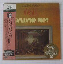 DARRYL WAY´S WOLF - Saturation Point JAPAN SHM MINI LP CD OBI NEU! UICY-93827