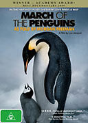 THE MARCH OF THE PENGUINS - BRAND NEW & SEALED REGION 4 DVD (DOCUMENTARY, 2005)