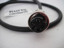 Cobra Galaxy Cb Ham Radio Mic plug C4PHR5C adapter 4 Pin to 5 pin Uniden Hr2510