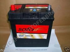 CAR BATTERY BATTERIA ACCUMULATORE 35 AH AUTO SAFA - S35J-TP