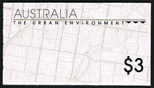 Australia 1989 Urban Environment $3 Booklet = Mint Perfect Nh