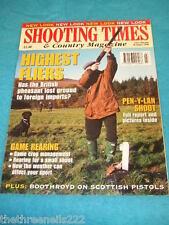 SHOOTING TIMES - PEN-Y-LAN SHOOT - JAN 18 1996