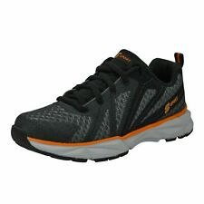 NWT Boys' S Sport by Skechers Ixnay Athletic Shoes -Black Orange/White sz 3