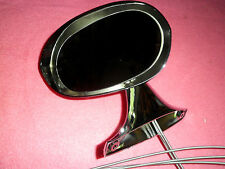 73 74 Dodge Charger Side Mirror Chrome Remote NEW