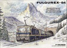 catalogo FULGUREX 1984 Spur N HOm HO O    MOB             D F     aa