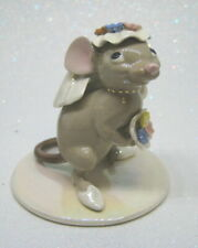 Hagen Renaker Specialties Made in America Country Mouse Bride retired