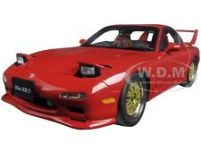 MAZDA RX-7 (FD) TUNED VERSION VINTAGE RED 1:18 DIECAST CAR BY AUTOART 75969