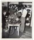 1948 Berlin Blockade Heating Irons with Smuggled Propangas Original News Photo