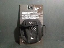 Nike Running Arm Wallet Phone Case Black Adult Unisex Adjustable Stretch Fit