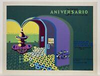 "Luis Rodriguez, DIVEDCO Pelicula Dona Julia, Puerto Rico Art 18""x27"" 1986 Signed"