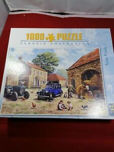 King 1000 piece jigsaw puzzle 'Vets Visit'