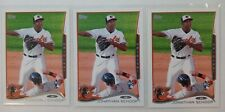 Jonathan Schoop lot of 3 2014 Topps Rookie cards. See Description