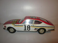 RARE FIAT DINO N° 18 JOUET ANCIEN TOLE A FRICTION JOUSTRA Made in France 24 cm