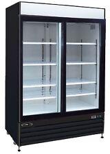 Kool-It KSM-42 42cf 2 Door Commercial Glass Beer & Soda Cooler Refrigerator NEW!