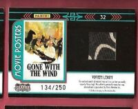 VIVIEN LEIGH SCARLETT O'HARA GONE WITH THE WIND WORN RELIC SWATCH COSTUME CARD #