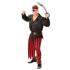 MENS ADULT PIRATE CAPTAIN BUCCANEER FANCY DRESS COSTUME OUTFIT HALLOWEEN STAG