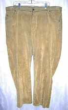 Women's Liz Claiborne Hippie Gold Velour Denim Jean Pants Plus 24 Petite