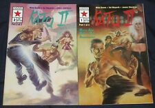 KATO II #1,2 (NM-) Full Set! From GREEN HORNET TV Show BRUCE LEE Now Comics 1992