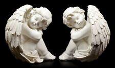 Engel Figuren 2er Set - Träumereien - Putten Cherubim Engelfigur