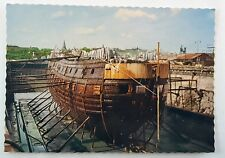 The Wasa in Dry-Dock after Salvage 1961 Real Picture Vintage Postcard