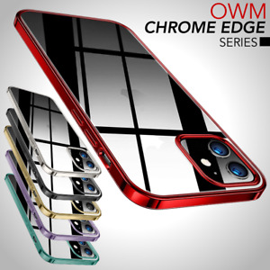For iPhone 13 12 Pro Max Mini Silicone Shockproof Soft Plated TPU Gel Case Cover