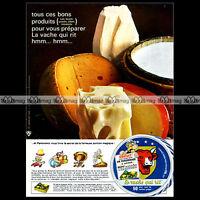 ASTERIX & Fromage LA VACHE QUI RIT 1967 Uderzo - Pub / Publicité / Ad #A23
