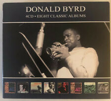 DONALD BYRD - EIGHT CLASSIC ALBUMS (UK IMPORT) 4 CDs LIKE NEW