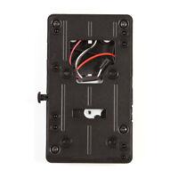 V-mount V-lock D-Tap BP Battery Plate Adapter for Sony DSLR Camera Power Supply