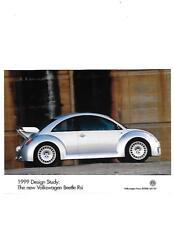 1999 VW VOLKSWAGEN BEETLE Rsi PRESS PHOTO 'SALE BROCHURE' CONNECTED