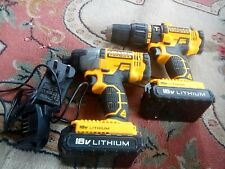 STANLEY FATMAX FMC626 18V TWO SPEED DRILL & FMC641 18V IMPACT DRIVER