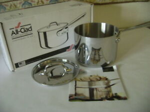 NIB GENUINE ALL-CLAD 2 qt. saucepan with Lid-Superior Cookware-Superior results