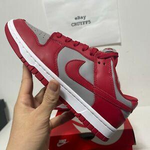 Nike Dunk Low Retro Medium Grey Varsity Red UNLV (2021) | DD1391-002 | Size 7.5