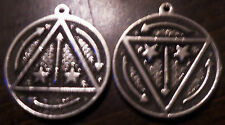 """Alleged"" VRIL PENDANT - Vril power energy pendant with instructions !!"