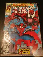 Spider-Man Unlimited #1 1st Shriek Key Maximum Carnage NM+ Gem wow LEE