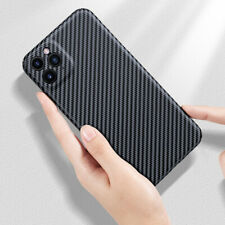Real Carbon Fiber 3DUltraThin Full Protective Cover Case for iPhone 11 11Pro Max