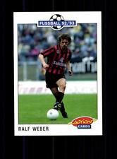 Ralf Weber  Eintracht Frankfurt SC Panini Action Card 1992-93+ A 183199