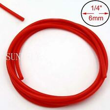 Red 5m x 6mm Vacuum Hose Silicon Rubber Pipe Vac Air Water Coolant Oil Turbo