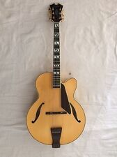 "D'Aquisto New Yorker 17"" ACOUSTIC Archtop Blonde Made In Japan"