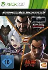 Xbox 360 Fighting Edition SoulCalibur V + Tekken Tag 2 + Tekken 6 Neuwertig